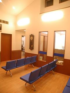 待合室の様子